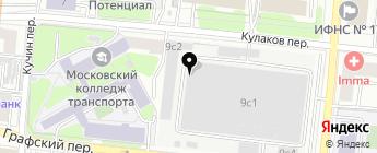 Ирс-Моторс на карте Москвы