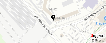JOB-CAR на карте Москвы