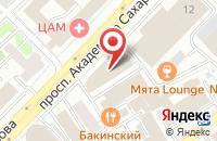 Схема проезда до компании Мэджик Мьюзик в Москве