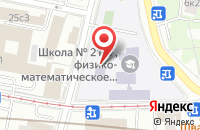 Схема проезда до компании Флаутас в Москве