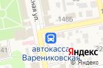 Схема проезда до компании Автостанция в Варениковской