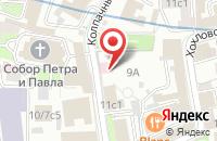 Схема проезда до компании Андеграундарт в Москве