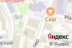 Схема проезда до компании ГазЭнергоСтрой в Москве