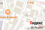 Схема проезда до компании Плеадес в Москве