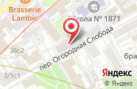 Схема проезда до компании Джэй-Дабл-Ю-Ти в Москве
