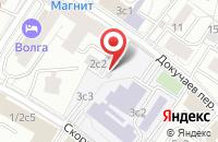 Схема проезда до компании Альфастройагро в Москве