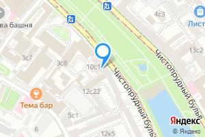 Сдается комната в пятикомнатной квартире в Москве Чистопрудный бульвар д. 10 стр. 1