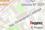 Схема проезда до компании JWT Russia в Москве