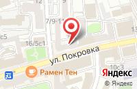 Схема проезда до компании Магрус в Москве