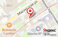 Схема проезда до компании Академия Поэзии (Некоммерческое Партнерство) в Москве