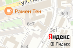 Схема проезда до компании Паритет 44 в Москве