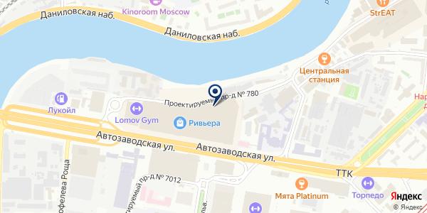 Хруст на карте Москве