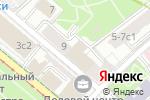 Схема проезда до компании Ростехинвентаризация-Федеральное БТИ в Москве