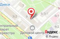 Схема проезда до компании Лдл в Москве