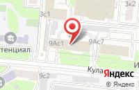 Схема проезда до компании Чайза в Москве