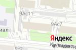 Схема проезда до компании Baby Angel в Москве