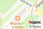 Схема проезда до компании ВВЦ-Северная в Москве