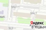 Схема проезда до компании Сантэл-гранит в Москве