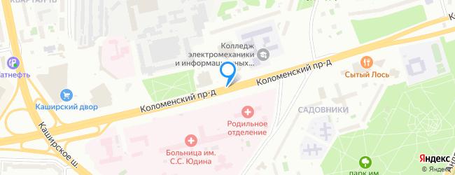 Коломенский проезд