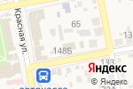 Схема проезда до компании Банкомат, Крайинвестбанк, ПАО в Варениковской