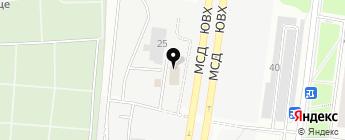 YakudZa-MotoRS на карте Москвы