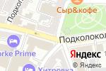Схема проезда до компании Мир в красках в Москве