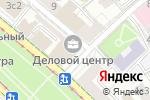 Схема проезда до компании Интервояж в Москве