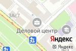 Схема проезда до компании Росвеп-Сервис в Москве