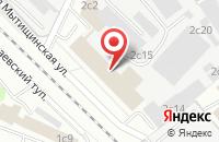 Схема проезда до компании Техмашсервис в Москве