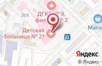 Схема проезда до компании Шестнадцатый Регион в Москве