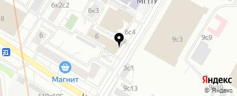 LR-STAR на карте Москвы
