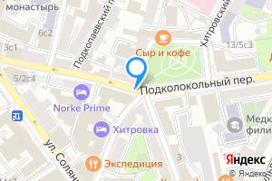 Комната в трехкомнатной квартире в Москве м. Китай-город, Подколокольный переулок,м.Китай-город