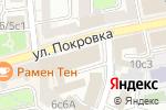 Схема проезда до компании Кофецвет в Москве
