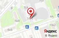 Схема проезда до компании Кендел в Москве