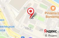 Схема проезда до компании Институт развития туризма и курортного дела в Москве