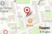 Схема проезда до компании Эгида-Компани в Москве