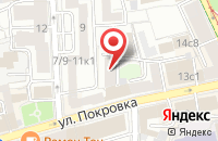 Схема проезда до компании Илгус в Москве