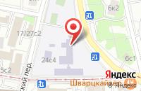 Схема проезда до компании Глеско в Москве