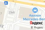 Схема проезда до компании Балконы Окна в Москве
