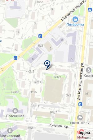 ТФ ДИАЛИН-М на карте Мытищ