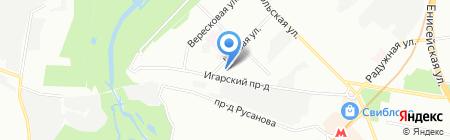 КВАРТЭК экология на карте Москвы