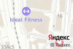 Схема проезда до компании Модный континент в Москве