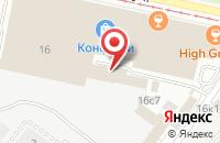 Схема проезда до компании Элвиус Клаб в Москве