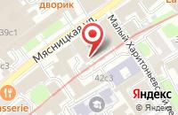 Схема проезда до компании Юг Мет в Москве