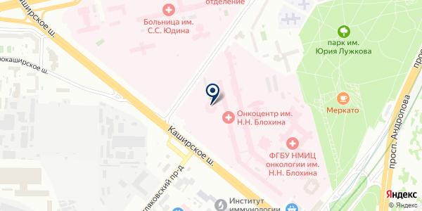 ТФ ЩЕРБИНСКИЕ ЛИФТЫ на карте Москве