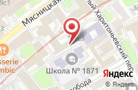 Схема проезда до компании Инфотропик Медиа в Москве