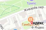 Схема проезда до компании Облака Studio в Москве