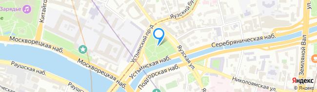 площадь Яузские Ворота