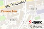 Схема проезда до компании Фракталла в Москве