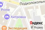 Схема проезда до компании Студия Ланза в Москве